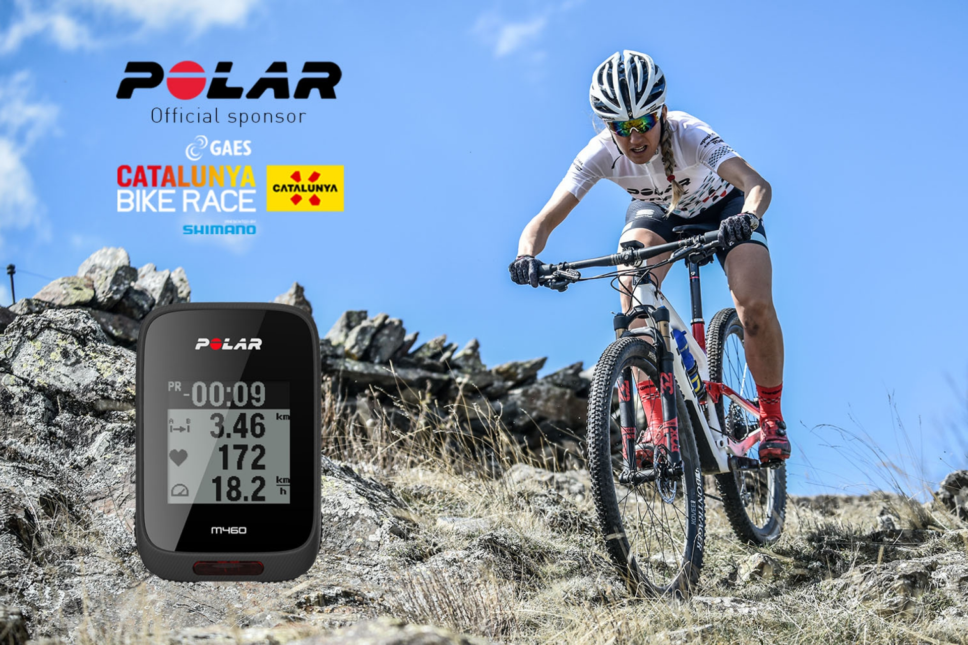 Polar brings many surprises to GAES Catalunya Bike Race presented by Shimano