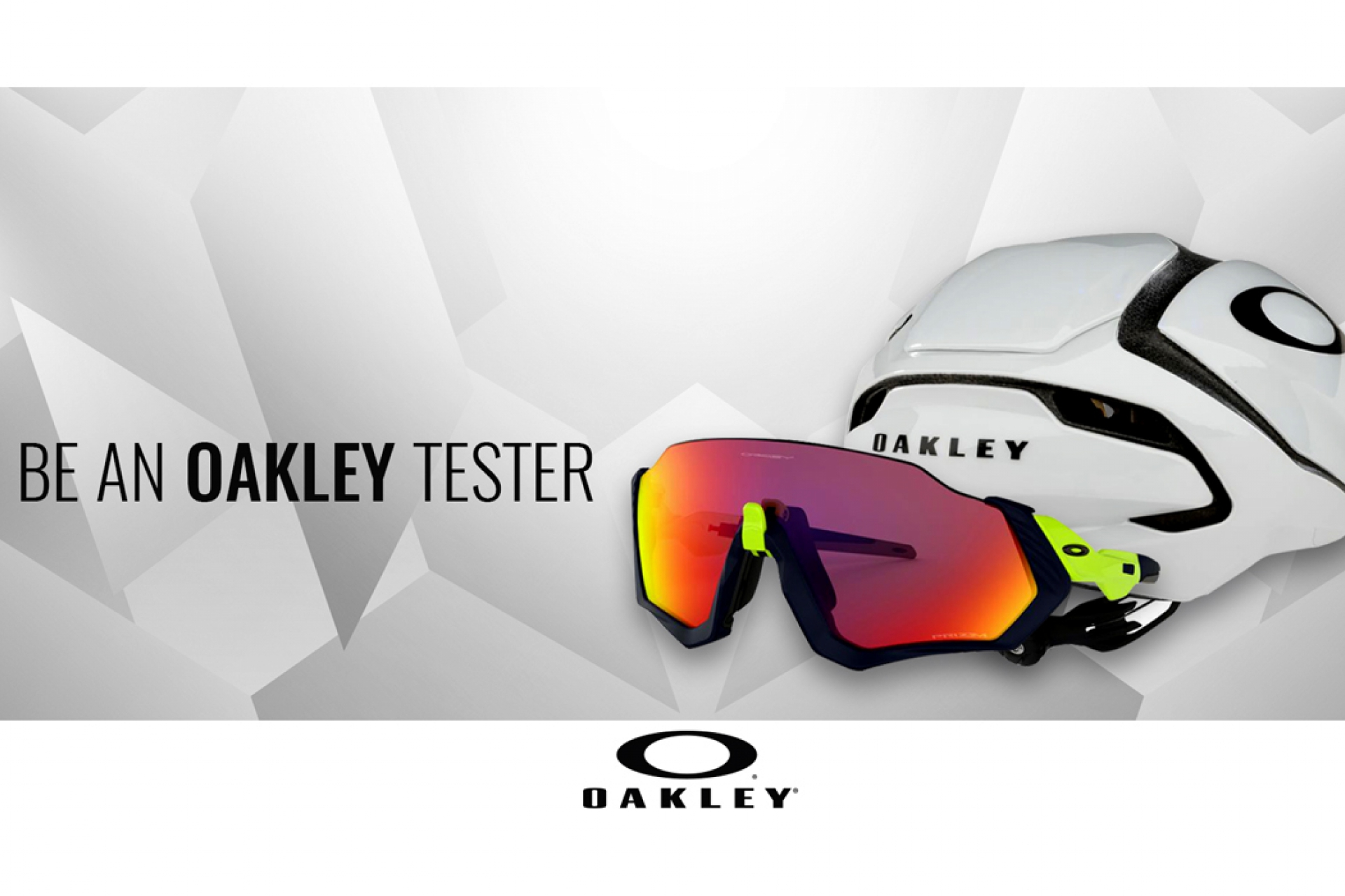 Do you want to be an Oakley tester?