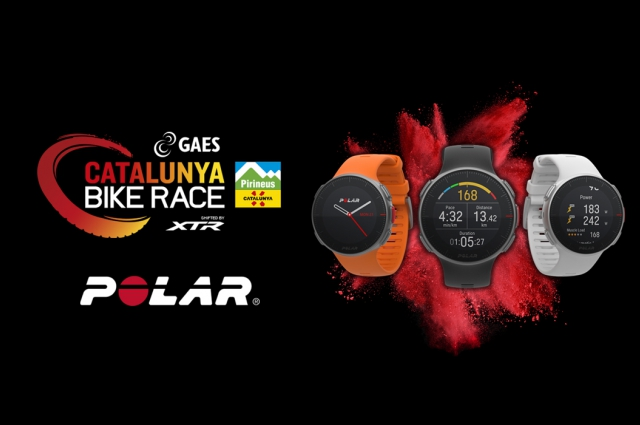 Clàudia Galicia y José Antonio Hermida release the new Polar Vantage Series!