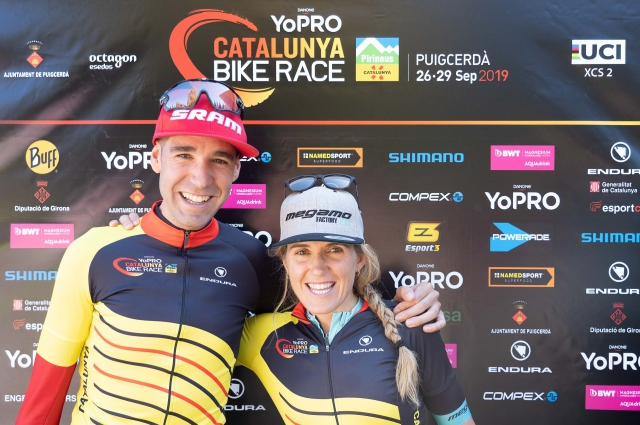 Valero and Galicia win the third edition of the YoPRO Catalunya Bike Race