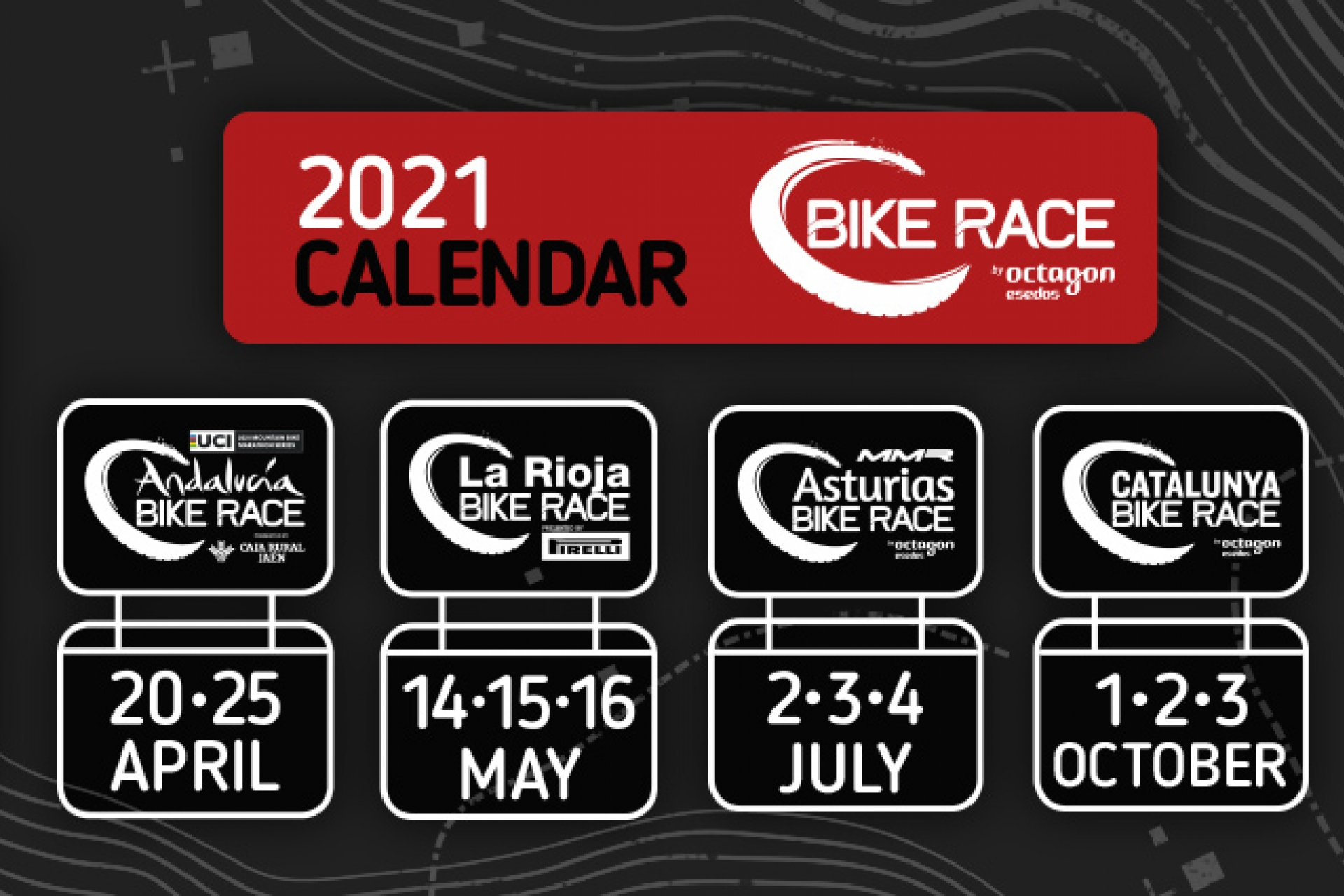 Introducing the Bike Race by Octagon Esedos Mountain Bike stage races calendar for 2021